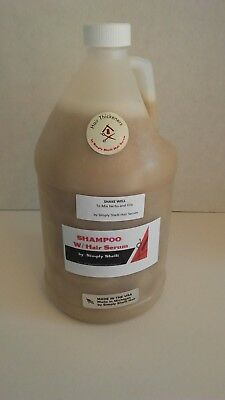Hair Thickener Serum Shampoo (1) Gallon, 128 ozs. 8 lbs. BUSINESS OPPORTUNITY