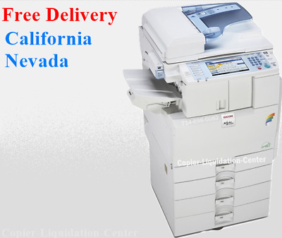 Ricoh MP C2551 Color Copier Scanner Printer. Speed 25 ppm - Low Meter