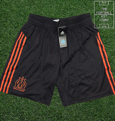 Marseille Away Shorts - Official Adidas Football Shorts - Mens - All Sizes