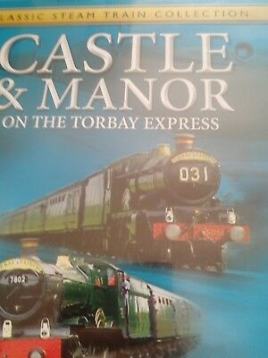 THE GREATEST STEAM ENGINES - Castle & Manor on the Torbay Express DVD Region 2
