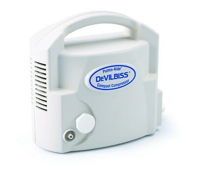 DeVilbiss Pulmo-Aide Compact Compressor Nebulizer 3655D ~FREE SAME DAY SHIPPING~