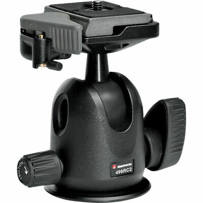 Manfrotto 496RC2 Compact Ball Head With Quick Release Plate 200PL-14