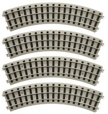 MTH LIONEL CORP Tinplate Realtrax Standard Gauge Curve Track (4 PK), 11-99042-4