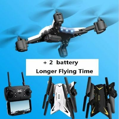 KY601S WIFI FPV RC Quadcopter Drone w/1080P 5.0MP Camera Foldable Selfie Drone