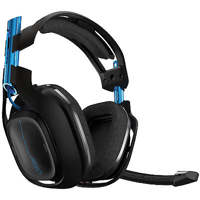 Astro A50 Wireless Gaming Headset for PS4/PC -Black Model : 939-001516 New