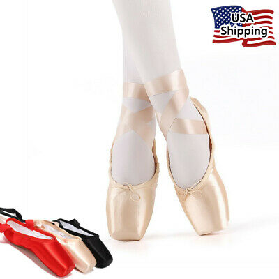 "Nexete Professional ""Vanassa"" Pointe  Ballet Dancing  Shoes for Girl & Women"