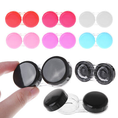 Contact Lens Box Colorful Travel Portable Case Storage Container L+R Accessories