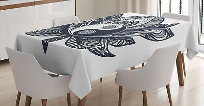 Yin Yang Tablecloth Ambesonne 3 Sizes Rectangular Table Cover Home Decor