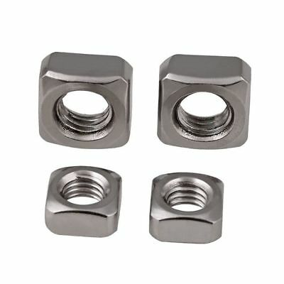 M3 M4 M5 M6 M8 M10 Square Nuts Machine Screw Nut 201/304 Stainless Steel