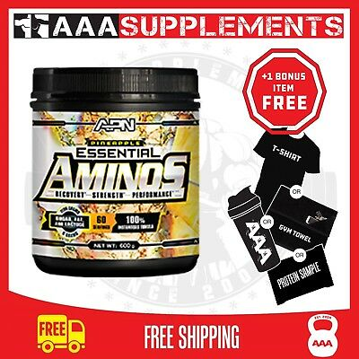 APN  Essential Aminos | 60 Serve | BCAA Amino Acids Gym Fitness Weight Fat Loss