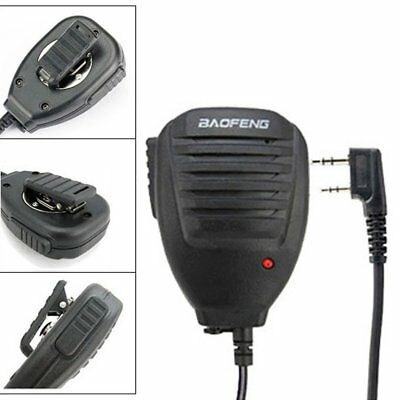 Baofeng Two Way VHF Radio Speaker Mic for UV-5R BF-F8+ BF-F9 UV-82 UV-5RA AU
