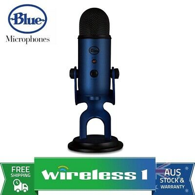 Brand New Blue Microphones Yeti 3-Capsule USB Microphone - Midnight Blue