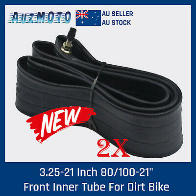 "2Pcs 3.00/2.75 - 21"" inch Front Inner Tube 200 250 300cc PIT PRO Trail Dirt Bike"
