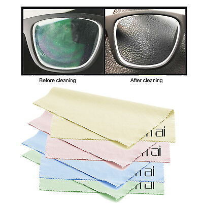Microfiber 10 pcs Phone Screen Camera Lens Glasses Square Cleaner Cleaning Cloth