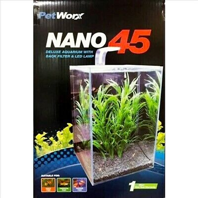 Pet Worx Nano 45 Aquarium 40L