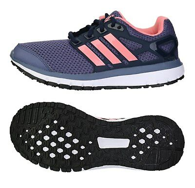 reputable site 428d4 d9e2b Adidas Women Energy Cloud Training Shoes Running Purple Athletic Sneakers  AQ4192