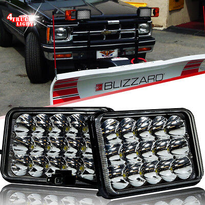 2PCS LED Headlights Upgrade for BLIZZARD Snowplow Snow Plow 680LT 720LT 810
