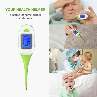 Personal Large Digital Display LCD Medical Body Thermometer Adult Child Baby Pet