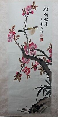 Original Chinese Scroll Painting Chinese Painting Hand Painted China Feng Shui