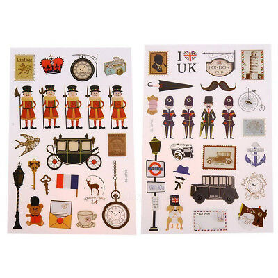 Korean Retro Scrapbooking DIY Calendar Diary Album Planner Stickers Deocr Craft