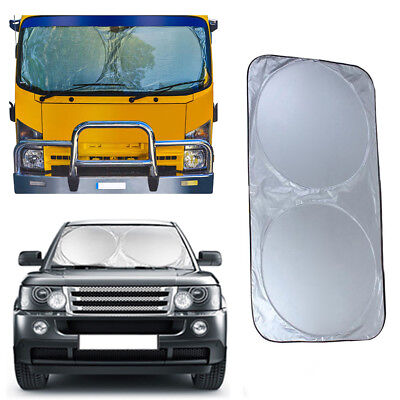 Foldable Heat Sun Shade Truck Van Car Front Windshield Cover Protector Glitzy