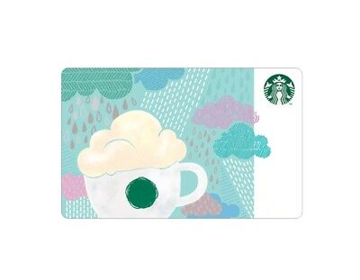 Starbucks Korea 2018 Rainy Day Card