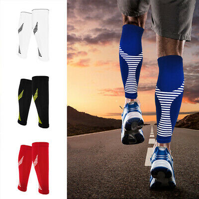 Calf Compression Sleeve Support Brace Socks for Running Training Exercise