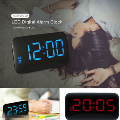 JK - 015 Home Office LED Digital Alarm Clock Supports Voice Control Time Display