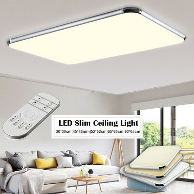 16/36/48/64W Slim LED Ceiling Down Light Light Dimmable Bedroom Living Room Lamp