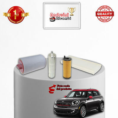 Kit Tagliando Filtri Mini Countryman R60 2.0 Cooper Sd All4 100Kw 136Cv 2011 ->