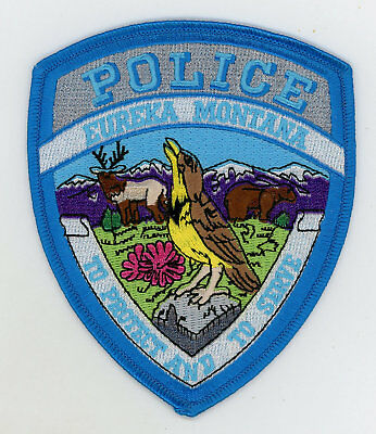 Eureka Police Department Montana First Issue