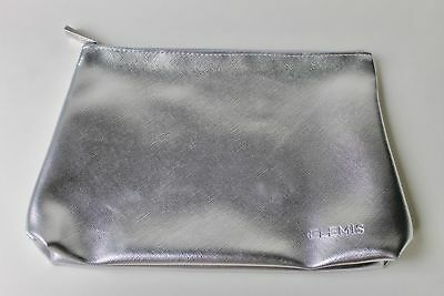 Elemis Silver Make Up Cosmetics Toiletry Bag