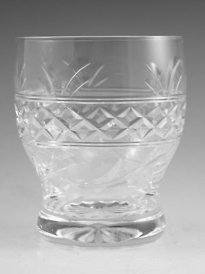 "STUART Crystal - IMPERIAL Cut - Tumbler Glass / Glasses - 3 1/4"" (2nd)"
