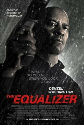 148842 Equalizer The Movie Wall Print Poster AU