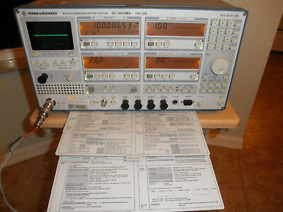 Rohde & Schwarz Radio Communications Test set .1 to 1000Mhz Model 802.2020.54