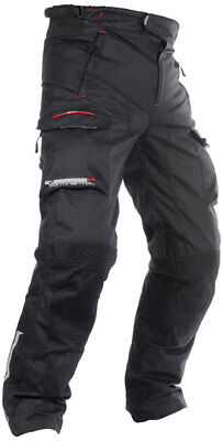 Oxford Continental 2.0 Mens Black Textile Waterproof Motorcycle Trousers
