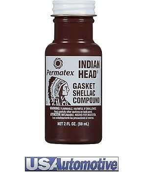 Permatex 20539 Indian Head Gasket Shellac Compound