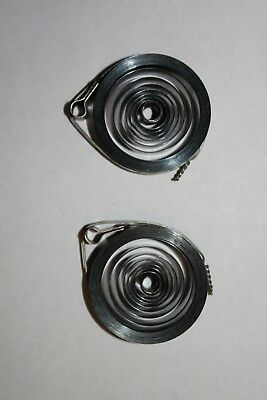 NOS, A Pair of American Made 8 Day Loop End Clock Time and Strike Springs