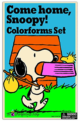 Colorforms Retro Come Home Snoopy Art Craft Supplies Kit Kids Children Play Toy