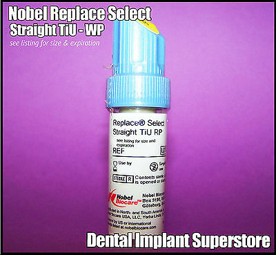 Nobel Biocare Replace - Select Straight TiU - 5.0 x 10mm - Exp. 2017 - 07