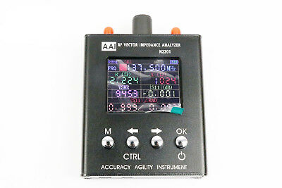 N2201SS Antenna Analyzer RF Vector Impedance Tester Power Meter 137.5M-2.7GHz