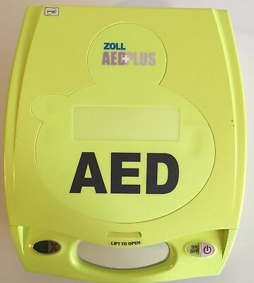 Zoll AED Plus Defibrillator with Sealed Pads and New Batteries 3YR Warranty