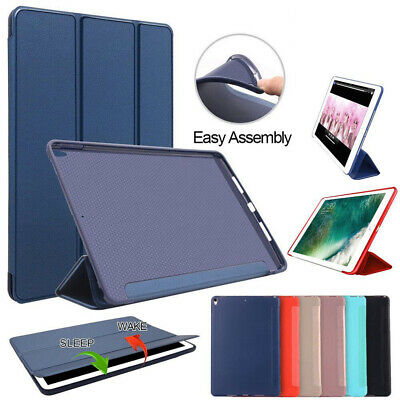 For iPad Mini 1/2/3/4 Ultra Slim Magnetic Leather Smart Cover Soft Silicone Case