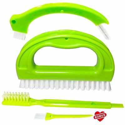 FIIIX Tile Brushes Grout Cleaner Brush Joint Cleaning Scrubber Brush for Shower,