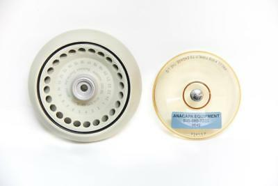 Beckman Coulter F241.5P Fixed Angle Rotor 14000 RPM & Lid 07/17 Expiration (4648