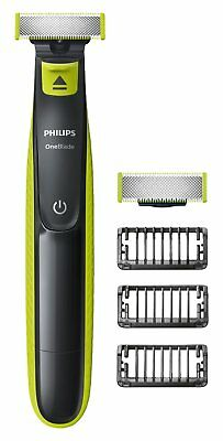 Philips OneBlade QP2520/30 Men's Hybrid Face Trimmer 3 x Lengths 1 Extra Blade