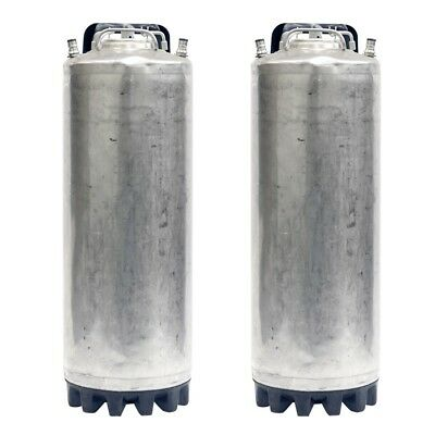 5 Gallon Ball Lock Two Pack Kegs Reconditioned - Class 2 - Beer - Free Shipping!