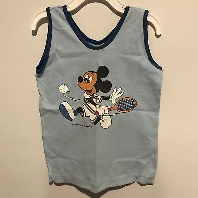 2734042a4c VINTAGE SEARS MICKEY MOUSE   FRIENDS Toddler Blanket Sleeper 3T ...