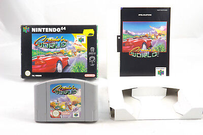 Cruis'n World (Nintendo 64) N64 Spiel in OVP, PAL, CIB, TOP, SEHR GUT