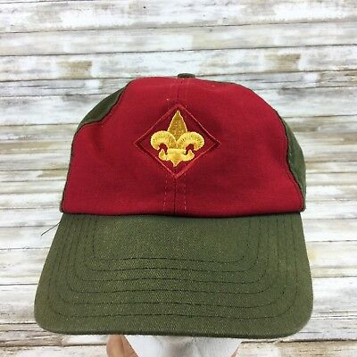 Boy Scouts Of America - Bsa  Greenn & Red  - Snapback Cap/hat